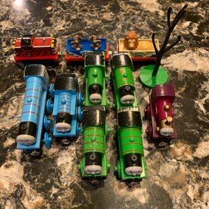 Set of Thomas the Train characters. 10 pieces